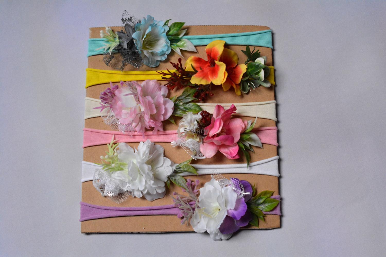 18ab3c3d615 Čelenka květinová