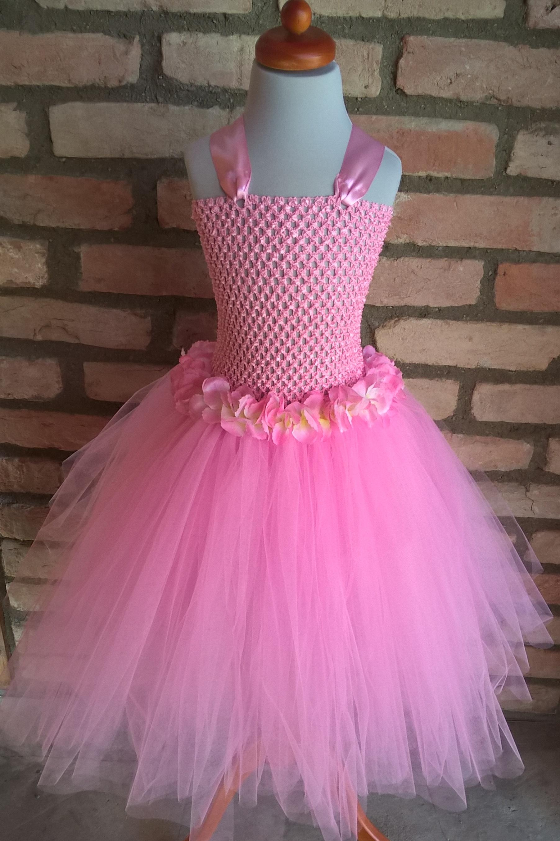 28a45353bdde Tutu šaty růžové empty