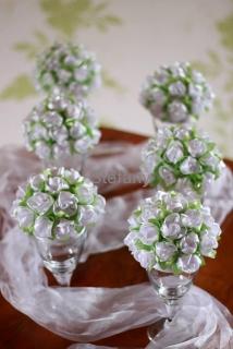 Svatební dekorace na stůl bazar
